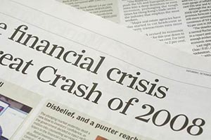financial crisis aim investing